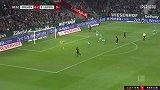 第83分钟RB莱比锡球员萨拉奇进球 云达不莱梅0-3RB莱比锡