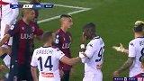 第81分钟博洛尼亚球员尼古拉斯-多明戈斯黄牌