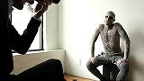【Rick Genest】NIGHTLIFE.CA's cover story shoot