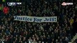 英超-1415赛季-联赛-第13轮-第9分钟仪式 西布朗球迷集体起立鼓掌纪念传奇杰夫-花絮