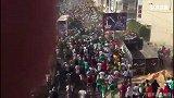 真TM羡慕!非洲杯让塞内加尔陷入狂欢 街道已被堵死