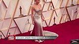 寡姐斯嘉丽·约翰逊抹胸裙亮相奥斯卡红毯,35岁身材曲线超完美