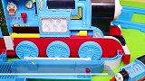 玩具小剧场:托马斯火车大集合,快来玩火车玩具吧