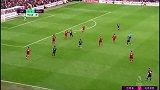 下半场补时第2分钟伯恩茅斯球员威尔逊黄牌