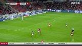 第49分钟RB莱比锡球员维尔纳进球 美因茨1-3RB莱比锡