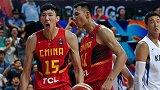 自由球员周琦联手OO后小将 中国男篮集训队小鬼当家