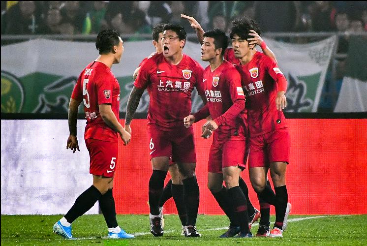 第26轮-李圣龙争议破门 国安0-2上港