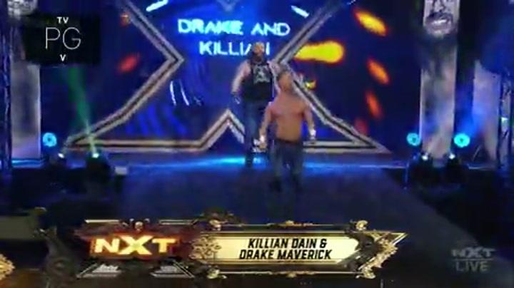 NXT第616期:女子三冠军同台 卢米斯抱得美人归