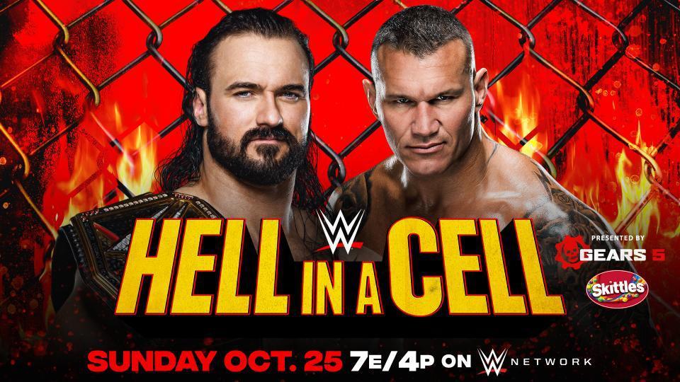 地狱牢笼2020:WWE冠军赛 德鲁VS兰迪