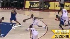篮球 14年 克里斯保罗神技教学 Shammgod虚晃 后仰跳投 专题